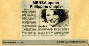 19921001 Philippine Star - Geena Davis