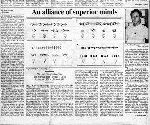 19921013 Manila Chronicle - Alliance